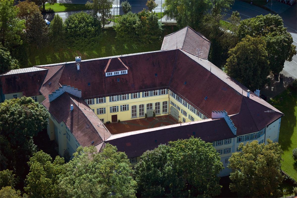 Ansicht von Schloss Kirchheim; Foto: Staatliche Schlösser und Gärten Baden-Württemberg, Achim Mende
