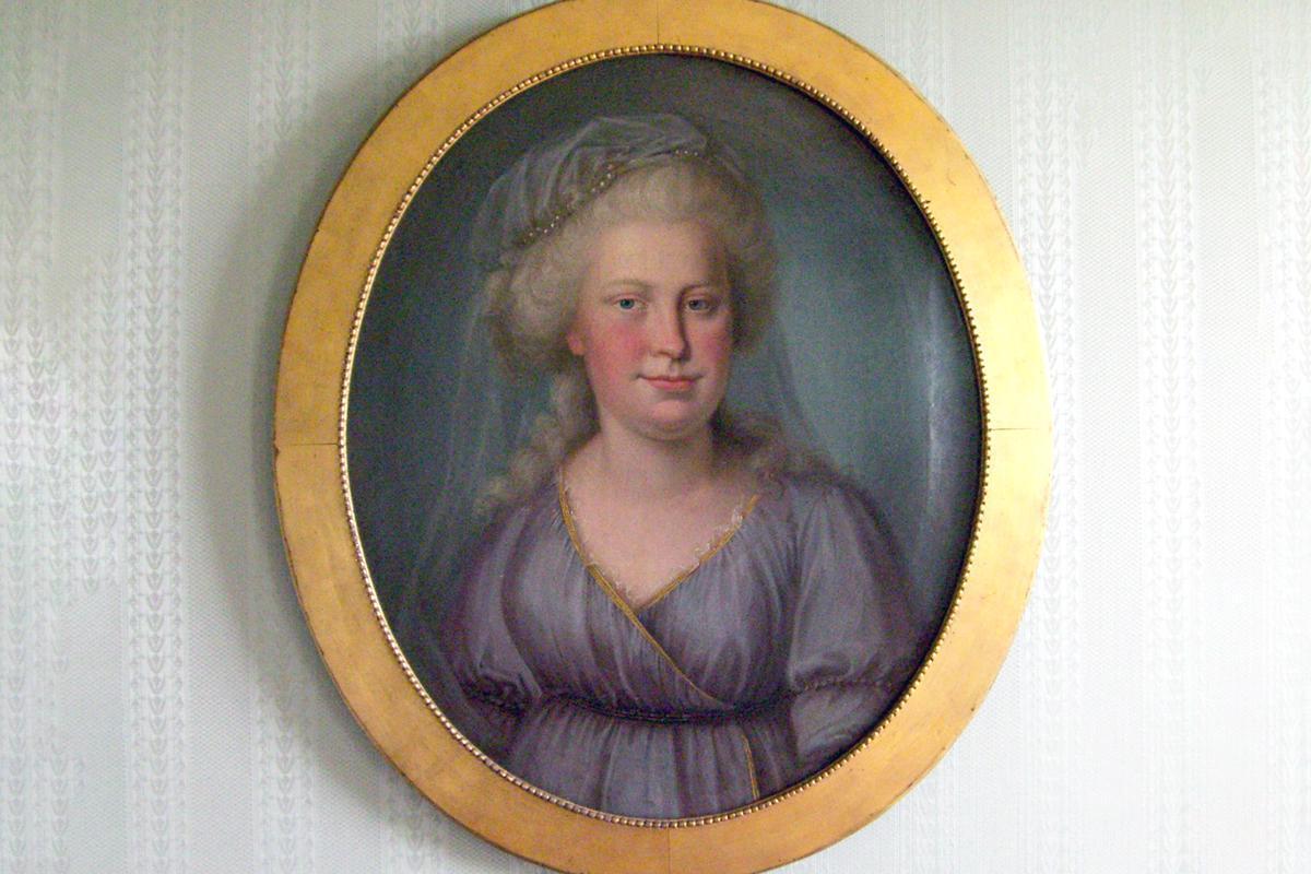 Porträt der Herzogin Franziska von Hohenheim, heute in Schloss Kirchheim