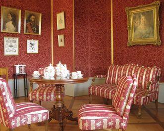 Quiet residence for six dowager duchesses. Image: Staatliche Schlösser und Gärten Baden-Württemberg, Julia Haseloff
