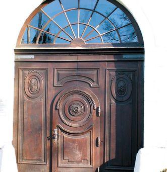 Ansicht eines Portals von Schloss Kirchheim