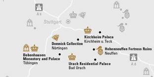 """journey map """"Swabian Alb & Tübingen"""""""