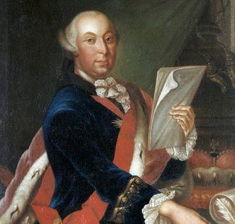 Porträt des Herzogs Carl Eugen