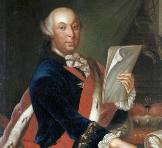 Portrait of Duke Carl Eugen. Image: Landesmedienzentrum Baden-Württemberg, Dieter Jäger