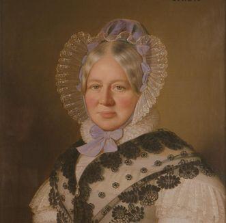 Portrait of Duchess Henriette von Württemberg, circa 1838. Image: Staatliche Schlösser und Gärten Baden-Württemberg, Joachim Feist