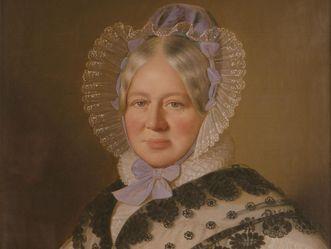 Portrait of Duchess Henriette von Württemberg, circa 1838