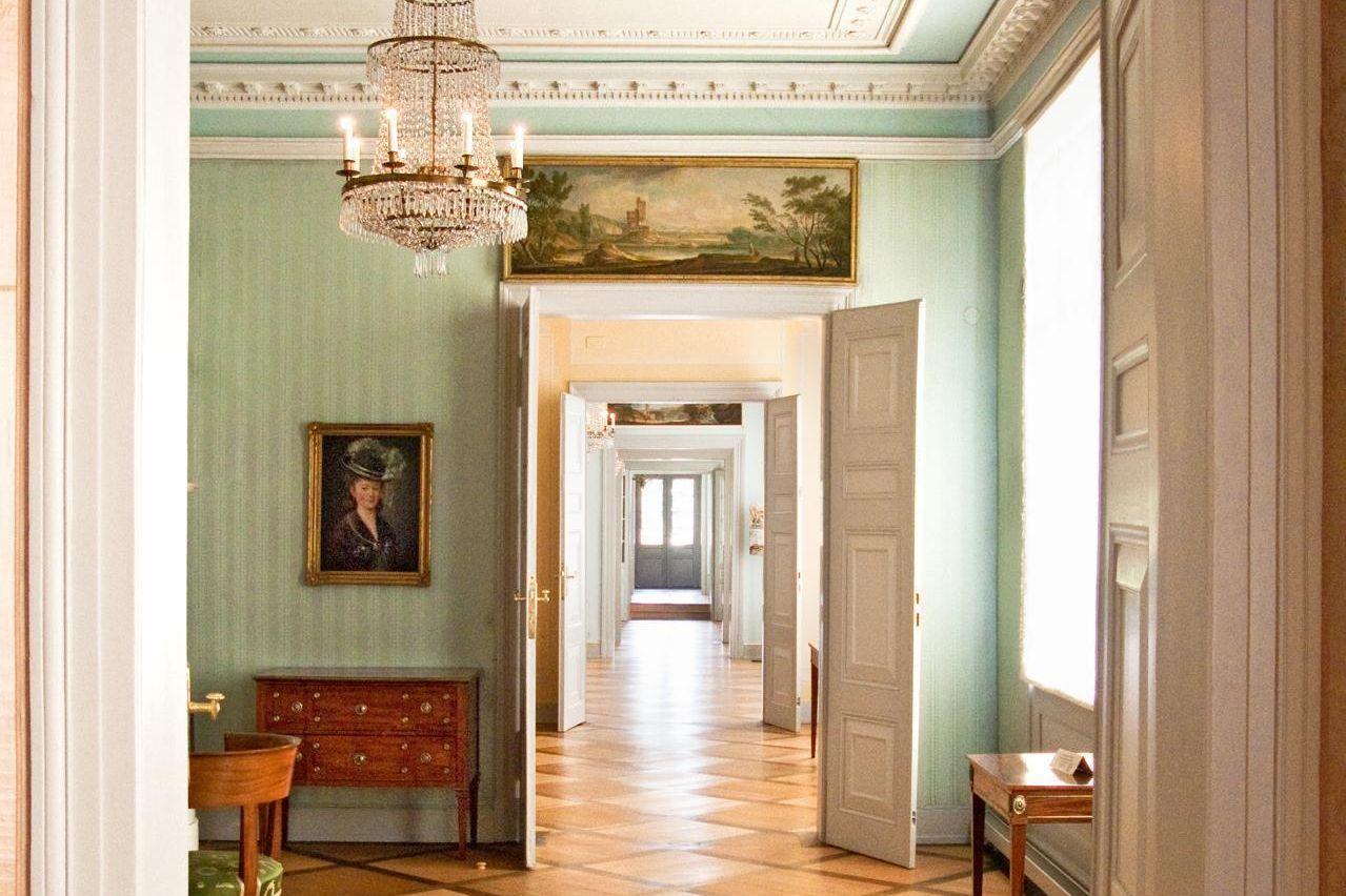Kirchheim Palace, Enfilade