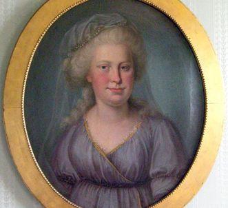Porträt von Herzogin Franziska von Hohenheim