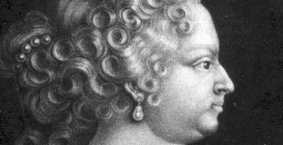 Porträt der Herzogin Johanna Elisabeth, geb. von Baden-Durlach.