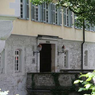 Eingang, Schloss Kirchheim
