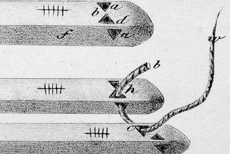 Raft of logs, Jägerschmid, 1828