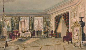 View of the room in 1857. Image: Städtisches Museum Ludwigsburg