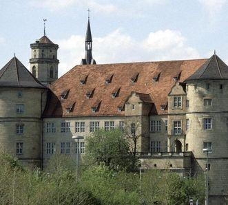 Ansicht des Alten Schlosses in Stuttgart