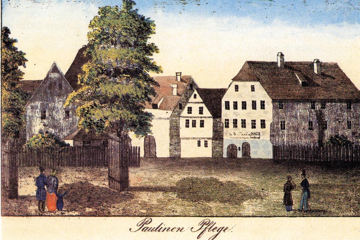 "The orphanage, the ""Paulinenpflege"", in Kirchheim unter Teck"